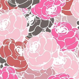 فون طرح دار Blooming Flowers