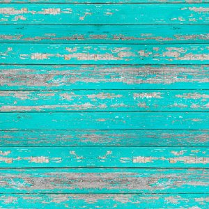 فون طرح دار Distressed Teal Wood